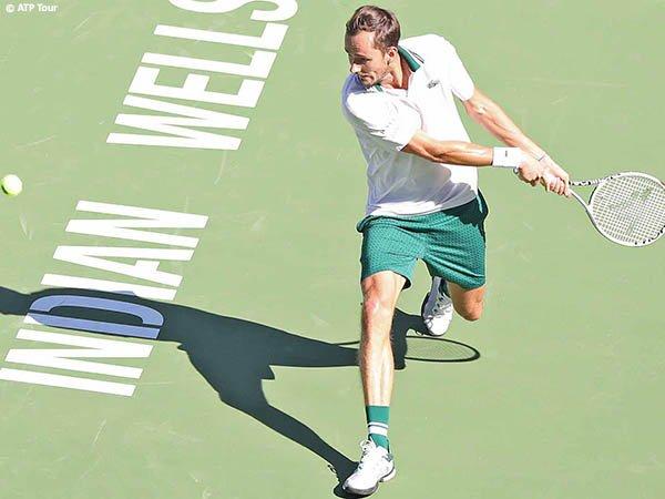 Terhenti di babak keempat BNP Paribas Open 2021, ini reaksi Daniil Medvedev