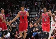 Chicago Bulls Catat Empat Kemenangan Beruntun Usai Bungkam Raptors